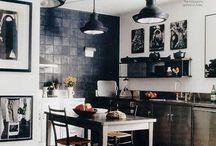 Interior Design - Nordic / Scandinavian (monocrome) / Inspiration for interior design (style: nordic / scandinavian, monocrome)