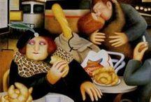 Beryl Cook- Art / by renee ward