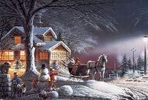 Thomas Kinkade-Christmas & Other Fine Works