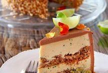 desserts, sweet