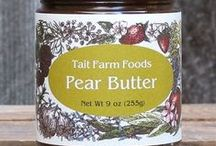 Fruit Spreads / We use over a half-pound of fresh fruit in ever jar of our Jams, Preserves, Conserves & Butters. http://shop.taitfarmfoods.com/Fruit-Spreads_c_11.html