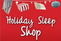 Holiday Gift Guide / The holidays are approaching! Do you know what to get your loved ones yet? Check out our Holiday Sleep Shop, where you can find everything you need for warm, cozy nights. Get the sweetest sleep of the season! Shop now at: http://www.sleepys.com/holiday-sleep-shop.html / by Sleepy's