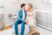 Ali Fedotowsky's Nursery / Artisan Ventianni and New York styles customized with Italian handles velvet coating.