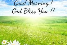a Great - Good Morning !! / Good Morning ! God Bless You !!
