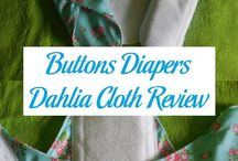 Dahlia Cloth / Mama cloth from Buttons!
