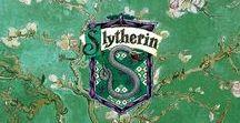 Slytherin aesthetic etc.