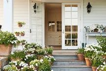 Front door porch