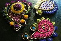 Embroidery ---> Shisha Mirrors