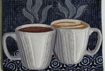 Quilting ~ Mug Rugs & Quilted Cards / by QuiltandCraft