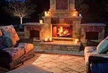 Backyard Oasis / by ~❤~ Angelina Designs ~❤~