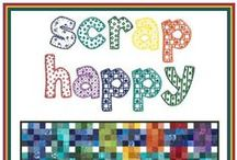 Quilting ~ Scrappy / Scrap quilt ideas and possibilities / by QuiltandCraft