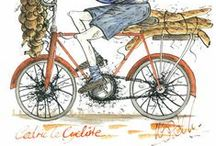 Tour de France Art / Tour de France 2014 http://michellecampbellart.com / by Michelle Campbell Art