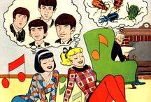 The Fab Four / John, Paul, George, Ringo.