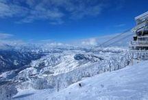 SKI / SNOWBOARD RESORT / ようはゲレンデ写真です。