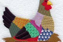 Quilt appliqué quilt block ideas & tips / by Sherry Hill
