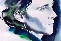 Up all night to get Loki / Loki art