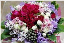 Purple bouquet / bouquet・花束