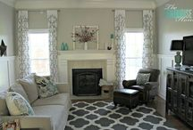 New living room ideas / by Ericka Wilcock