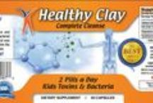Edible Healthy Clay Cleanse Rids Toxins & Bacteria / All Natural Detoxification!  800-900-3307
