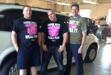 "Breast Cancer Awareness / On Friday, October 17th for each employee who wears their pink, MobilityWorks will donate $5.00 to the ""Susan G. Komen for the cure"" fund!"