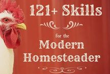 Homesteading / For when I'm craving a simpler life, or indulging my inner homesteader-to-be. Giddy up.