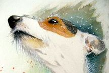 Dogs / by Michelle Campbell Art