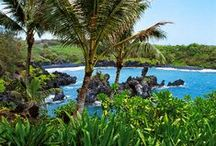 "Fascinating Hawaii / Because ""Hawaii is not a state of mind, but a state of grace."" ~ Paul Theroux"