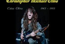 Criss Oliva Savatage / The legendary Savatage guitarist RIP
