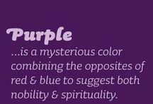 favorite purple thing / This board about my favorite color
