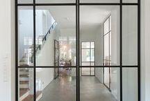 Beautiful dividing walls and doors
