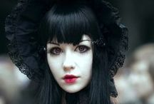 Dark beauty / Corsets, pirates and steampunk poses