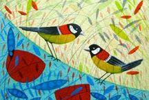 My work: Originals / birds, hares, wildlife,  Michelle Campbell Art. Licensed Art, Licensing, Art for Licensing.