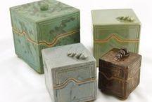 Pottery ♣ Boxes