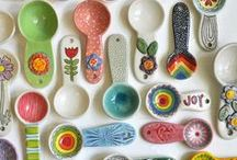 Pottery ♣ Spoons
