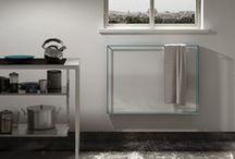 Kitchen / Inspiration for a design kitchen with Scirocco H's radiators