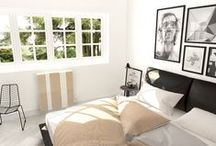 Bedroom / Inspiration for a design bedroom with Scirocco H's radiators