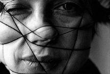 The Face / Experimental photographic portraiture