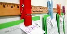 Classroom Decor / Ideas, tips, and pictures of classroom decor option for the teacher.  Whether you like a specific theme or special colors, you can find ideas for your next classroom project here.  DIY projects and bulletin board examples are just some of the ways you can bring your classroom to life.