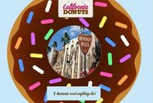 Through the donuts / Δες την California μέσα από ένα California Donut!