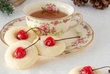 TEATIME Cookies/Sweets / Tasty little morsels to serve with tea....or just pictures of pretty tea settings / by Goliad Cooks