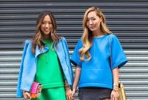 Street Style: Asia / Looking to Asia, for fashion inspiration.