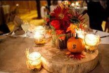 Autumn wedding inspiration / Autumn wedding inspiration, DIY, decorations, colours, ...