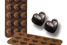 Moldes para hecer chocolates / Moldes para hecer chocolates