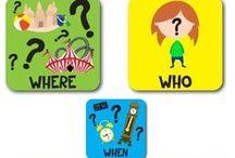 Ερωτήσεις τύπου ¨Ποιος-Πού-Πότε¨ / Ερωτήσεις τύπου ¨Ποιος-Πού-Πότε¨ - QUESTIONS WH (WHO-WHERE-WHEN) - SPEECH LANGUAGE THERAPIST IN GREECE - ΛΟΓΟΘΕΡΑΠΕΙΑ