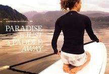 Stand up paddle boarding / Tranquility, peaceful, fitness, water