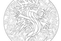 Mandalas / Coloring pages of the gallery « Mandalas » on www.coloring-pages-adults.com ! See more --> http://www.coloring-pages-adults.com/coloring-mandalas/  You can also explore our website http://www.free-mandalas.net !!  #Mandala #coloring #page #coloriage #drawing #art