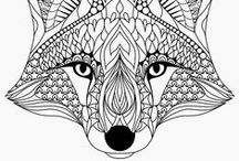Animals coloring pages / Many drawing of animals for coloring pages.  See more --> http://www.coloring-pages-adults.com/animals/  #coloring #page #coloriage #drawing #art #adults #adultes #animals #zentangle