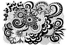 Zen and Anti-stress coloring pages / Relax with all this drawing ! A coloring page after the yoga lesson ?  See more --> http://www.coloring-pages-adults.com/coloring-zen/