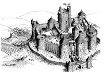 Middle ages coloring pages / Travel in history with our many coloring pages of the Middle ages. See more --> http://www.coloring-pages-adults.com/middle-age/