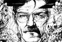 TV Series / Many drawing from TV series for coloring pages : Breaking bad, Game of thrones, Dexter, ... Enjoy !  See more --> http://www.coloring-pages-adults.com/tv-series/